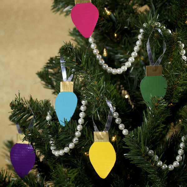13 Best Duct Tape Xmas Ornaments Images On Pinterest