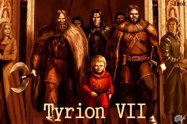 AGOT Tyrion VII banner - Tyrion's Gang by Amok
