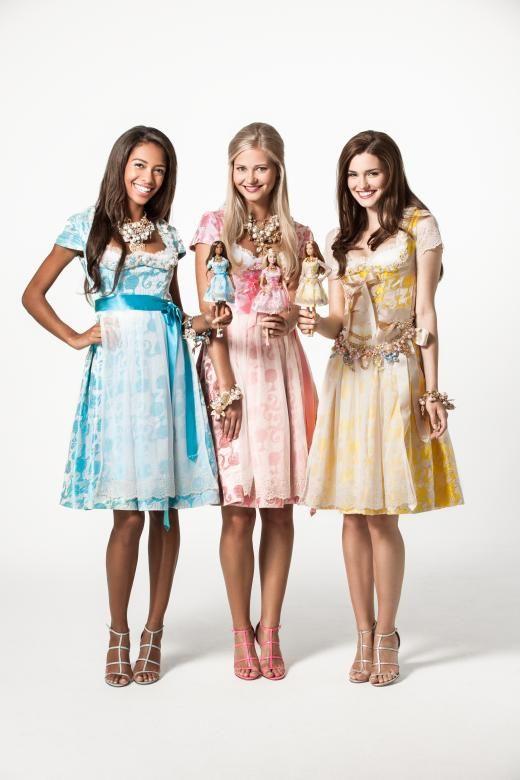 Blaimers Trachten-Couture gibt es auch für Große - leider alles Einzelstücke.