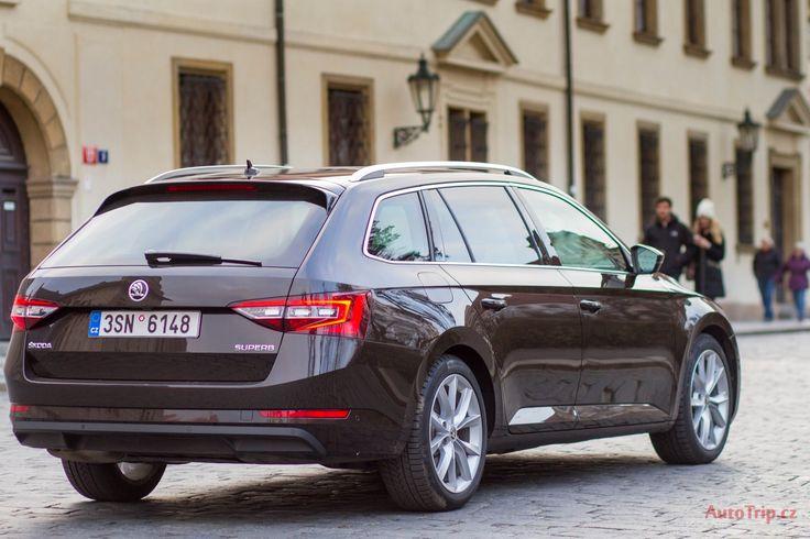 Zadní pohled - Škoda Superb 3 Combi - Celý test: http://autotrip.cz/test-skoda-superb-3-combi/