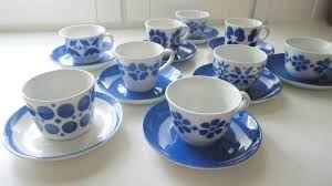 Kuvahaun tulos haulle arabia kahvikuppi sininen puhalluskoriste