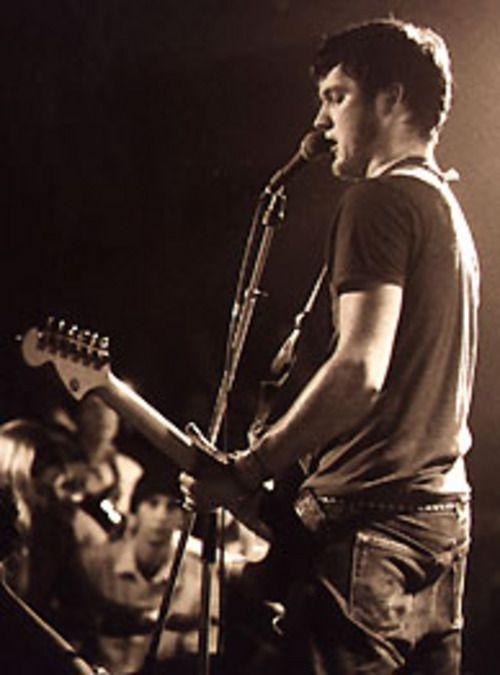 young isaac brock. bein a babe  OMG  <3