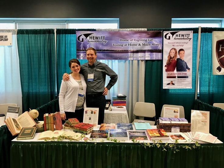 Stop by and see us at the Christian Heritage Conference today! Anna and Ryan are at booth #60.