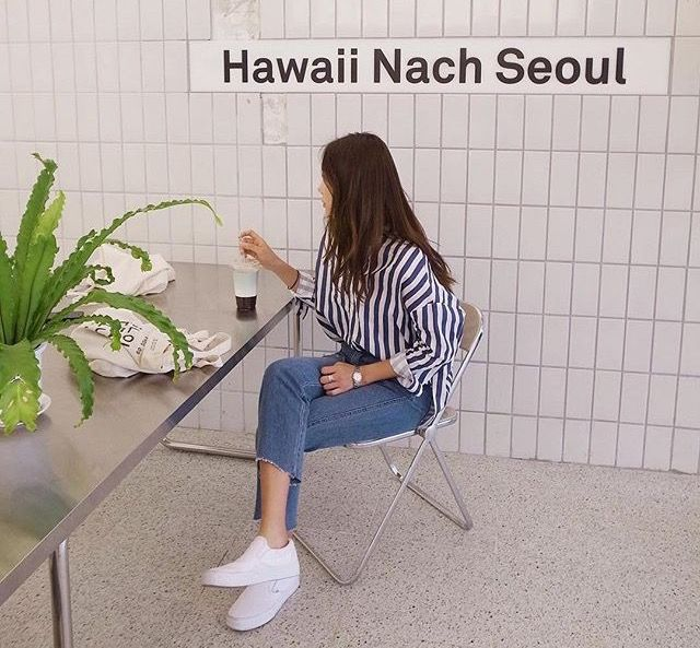 Von Hawaii nach seoul