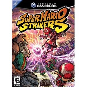 Super Mario Strikers for Nintendo GameCube.