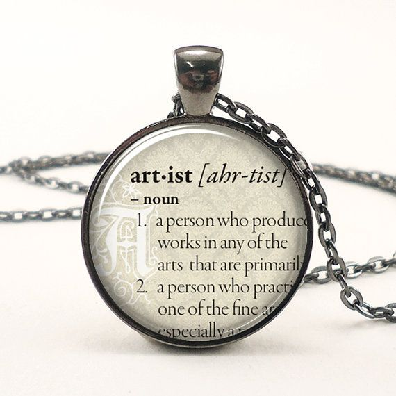 Personalized Dictionary Word Necklace.  This looks simple enough to do with resin and cutout from a pocket dictionary
