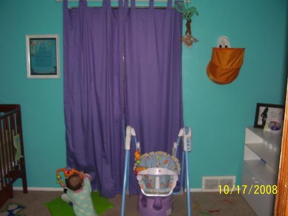 Little mermaid nursery!