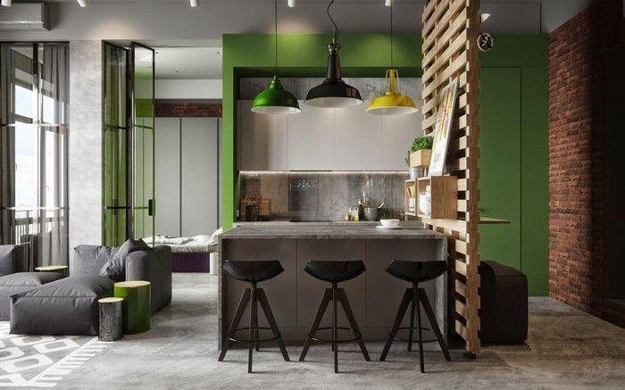Industrial Design Studio Apartment