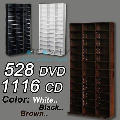 1116 #cd/528 dvd storage #shelf rack unit #adjustable bluray video games book,  View more on the LINK: http://www.zeppy.io/product/gb/2/171274233822/