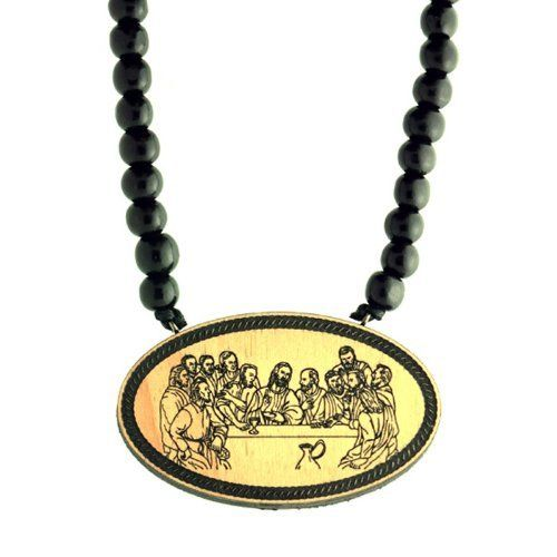 Swaggwood Wooden Last Supper Pendant Natural Beaded Necklace Made in the USA Swaggwood. $24.99. Wooden. Stylish. Unique. Made in the USA. Natural. Save 50%!