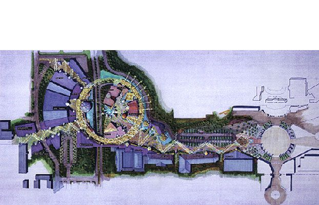 Downtown Disney - Anaheim Concept