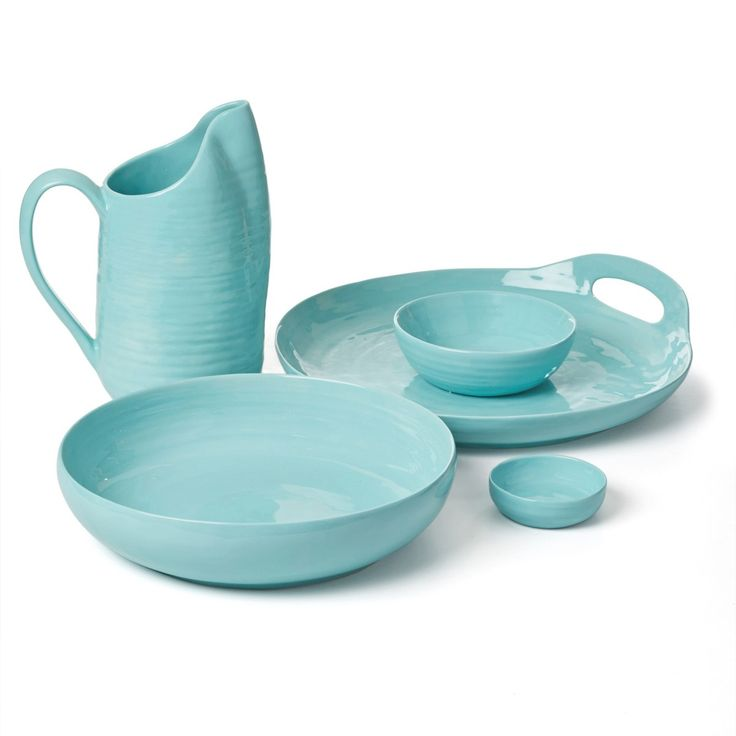 [Aqua] - Dan - these are on sale at the mo from bed bath and table. The bowl in front is a perfect size for your coffee table and will match your coasters :) on sale for $29.95