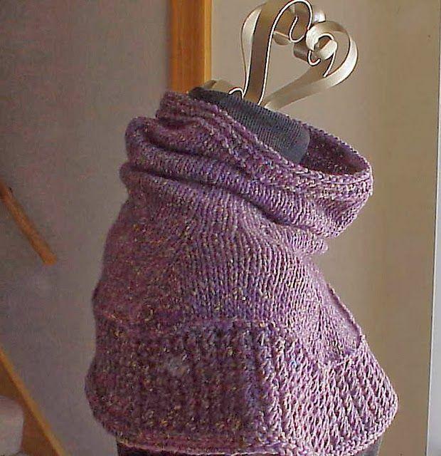 Kriskrafter: Free Knitting Pattern - Soft Shoulder Cowl                                                                                                                                                                                 More