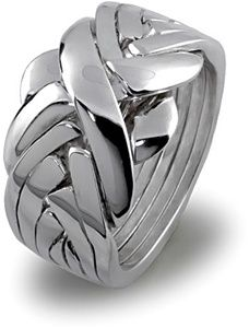 Platinum Puzzle Ring I Used To Have One Of These It Was Not Though