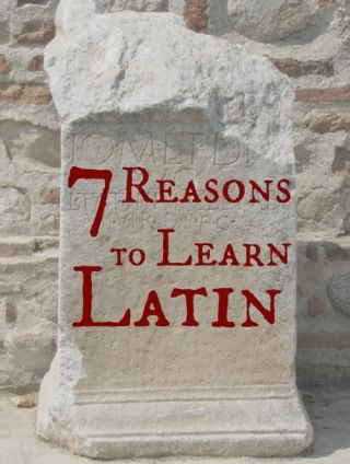 7 Reasons I'm learning Latin and teaching my kids too. By Trisha Gilkerson.