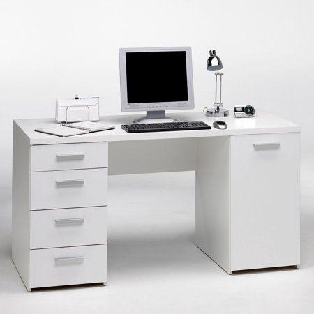 Home Home Office Design White Writing Desk Office Desk