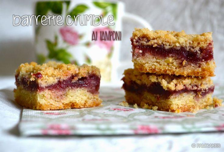 Pamcakes: Berry Crumb Bars (barrette Crumble ai Lamponi)