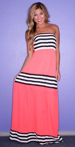 Happily Ever Striped in Orange | Impressions