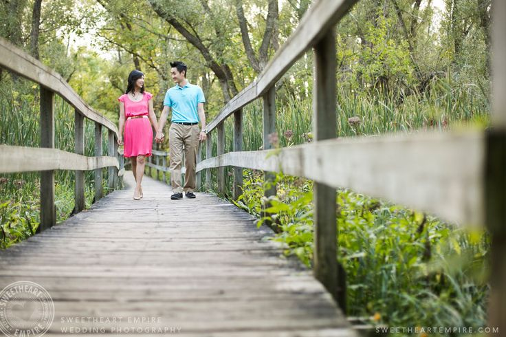 The bridge at Toogood Pond Park. Unionville, engagement session. #sweetheartempirephotography