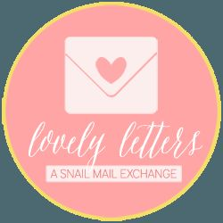 Snail mail exchange, pen pal