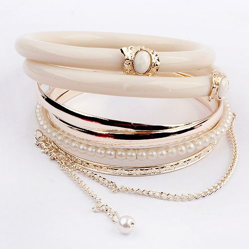 aleación de zinc Bangle Set
