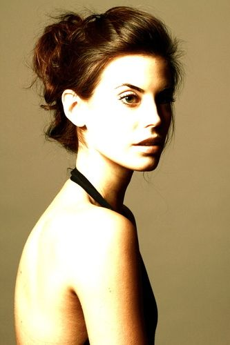 Meghan Ory, plays Red Riding Hood in Once Upon a Time. Love her big brown eyes! Plus her hair is gorgeous!!