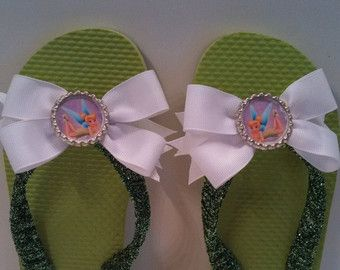 Disney Princess Belle boutique flip flops and matching hair
