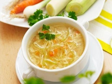 Easy and Healthy Polish Chicken Noodle Soup Rosol