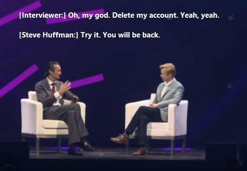 CEO Of Reddit Steve Huffman About Their Strategy To Make Money. Delete my account. Try it. You will be back.