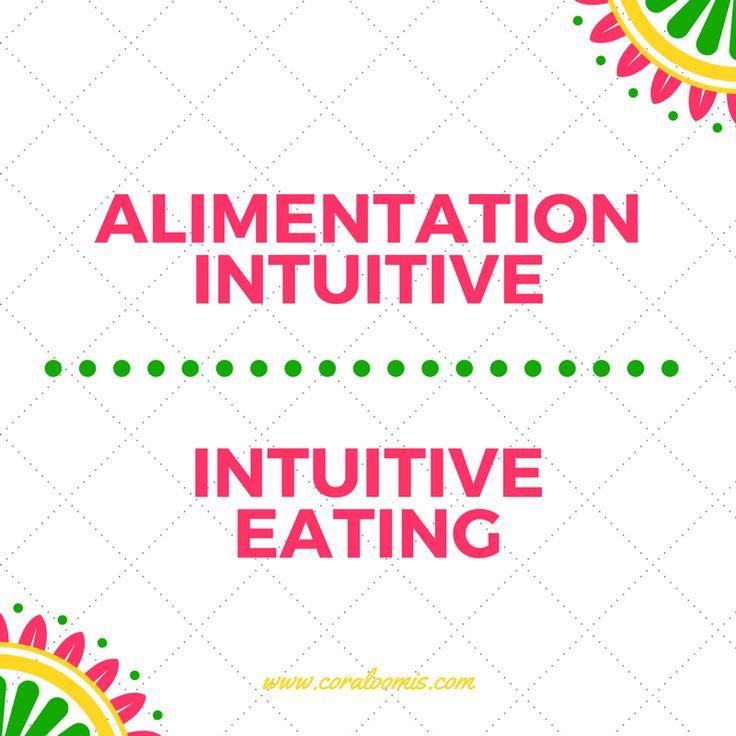 Les 10 principes de l'alimentation intuitive.  The 10 principles of intuitive eating.