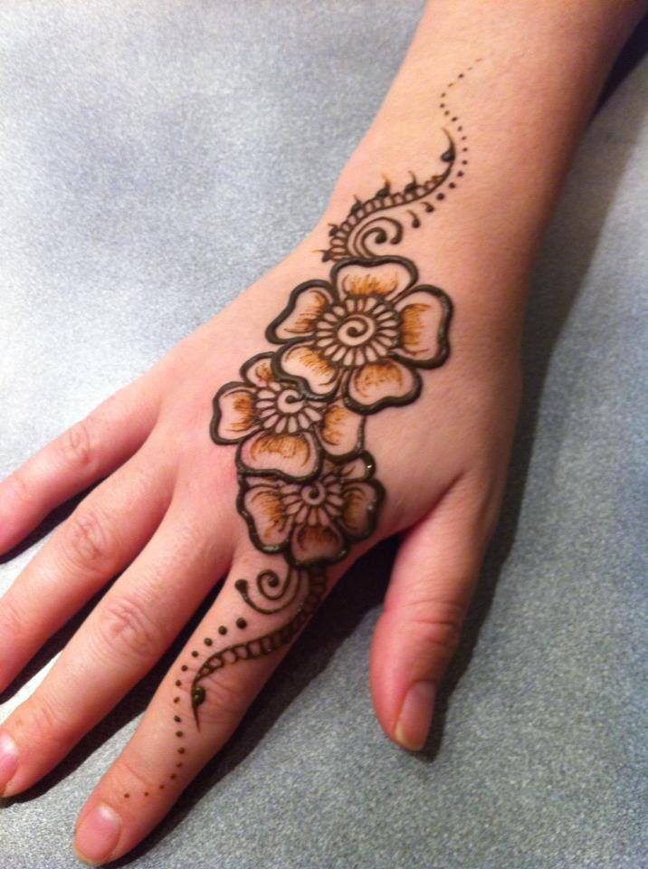 Best 25 small henna designs ideas on pinterest small for Henna tattoo for kids