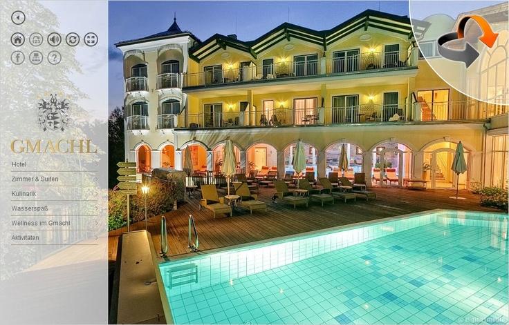 360° Rundgang aktualisiert - Hotel Gasthof Gmachl - Wellnesshotel in Bergheim bei Salzburg  http://www.diginetmedia.de/tours/at_00034/