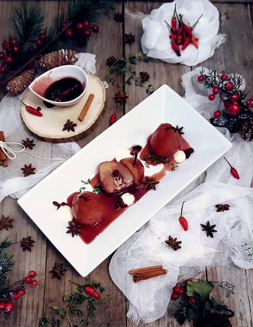Happy Life In The Kitchen: Peras Recheadas com Creme de Queijo e Bacon Carame...