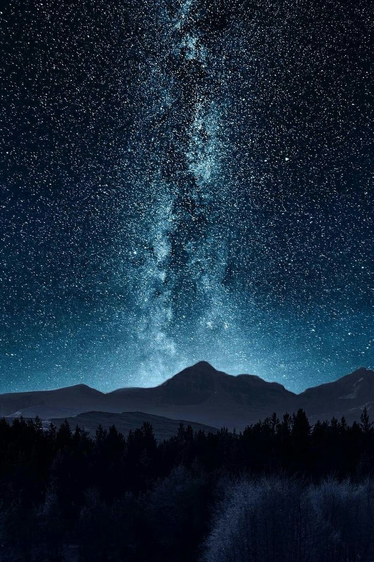 Звездное небо картинки на смартфон
