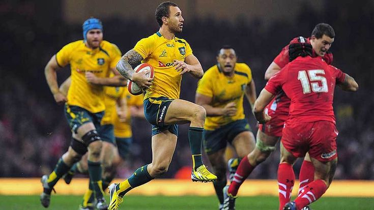 Rugby Quade Cooper's priority -