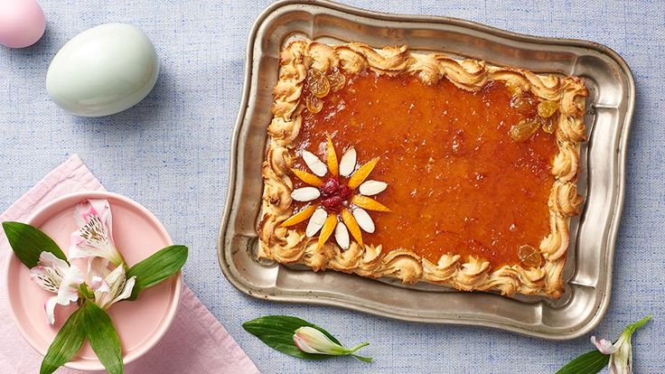 Mazurek pomarańczowy | https://www.pinterest.com/dentelleisis/mazurek-culin%C3%A1ria-polonesa/