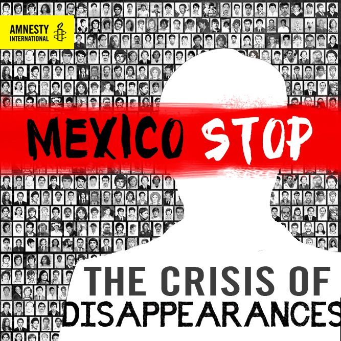 More than 27,000 people missing in Mexico. Systemic incompetence and a complete lack of will by authorities in Mexico needs to stop.  Take Action Today! http://amn.st/6495BXdYl #noesnormal