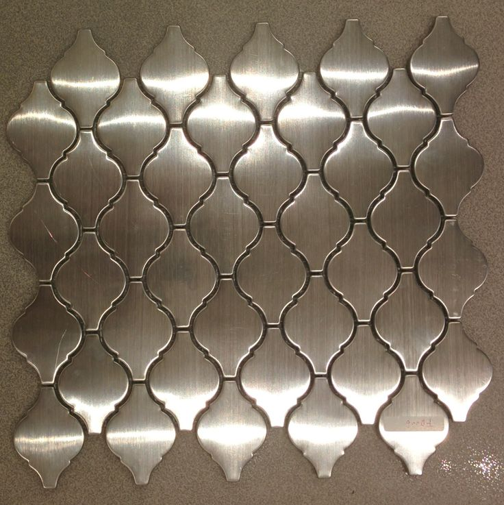 shop discount stainless steel arabesque tile Browse