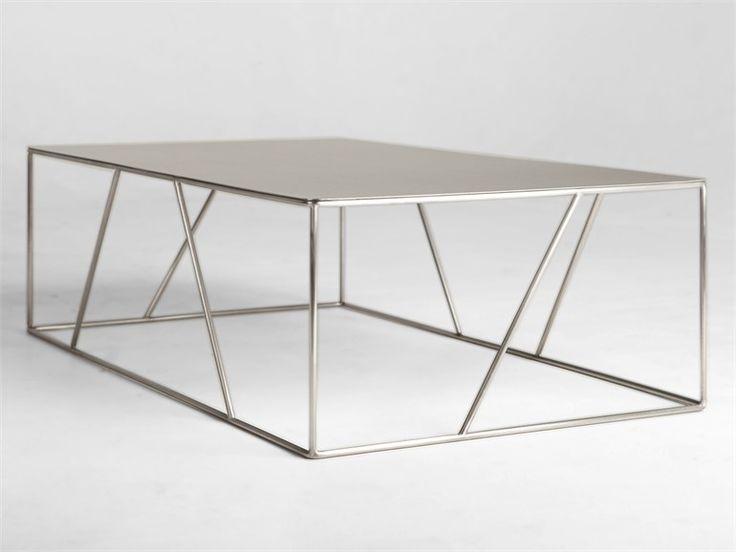 Table basse en acier by VIDAME CREATION   design Julien Vidame