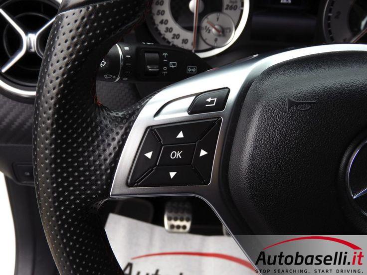 MERCEDES A 180 CDI PREMIUM AMG Interni in pelle/alcantara + Fari bi-xeno ILS + Cerchi BBS 19 + Pacchetto estetico AMG + Assetto a ghiere h&r + Bluetooth + Vetri oscurati + LED + del 2015