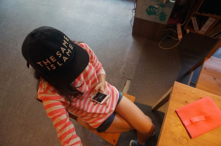 dailylook, fashion, pharrell williams, the same is the lame, orange striped, stripe t-shirts, shors, jeans, uniqlo, collaboration