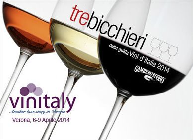 Three Glasses at Vinitaly 2014