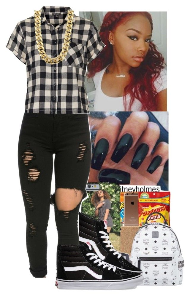 """""""👀🔳⚪️⚫️🔲"""" by jasmine1164 ❤ liked on Polyvore featuring Vans and Topshop"""
