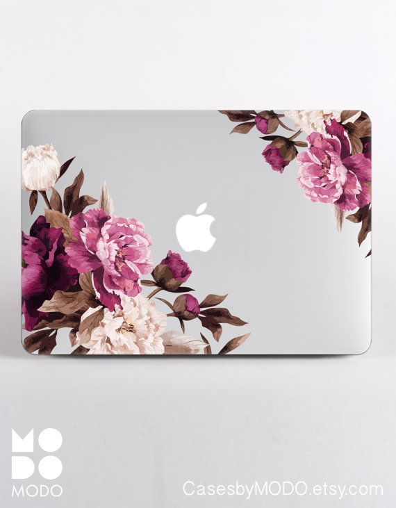 Flowers Macbook Case Macbook Pro 13 Case Macbook by CasesbyMODO
