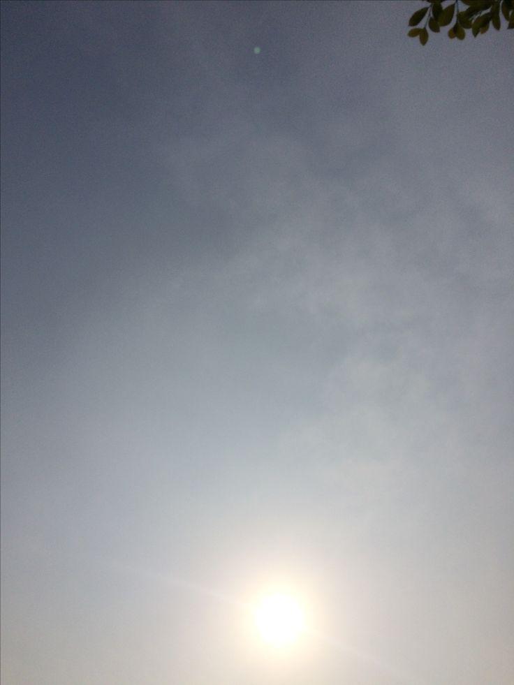 2017년 5월 11일의 하늘 #sky #cloud #sun