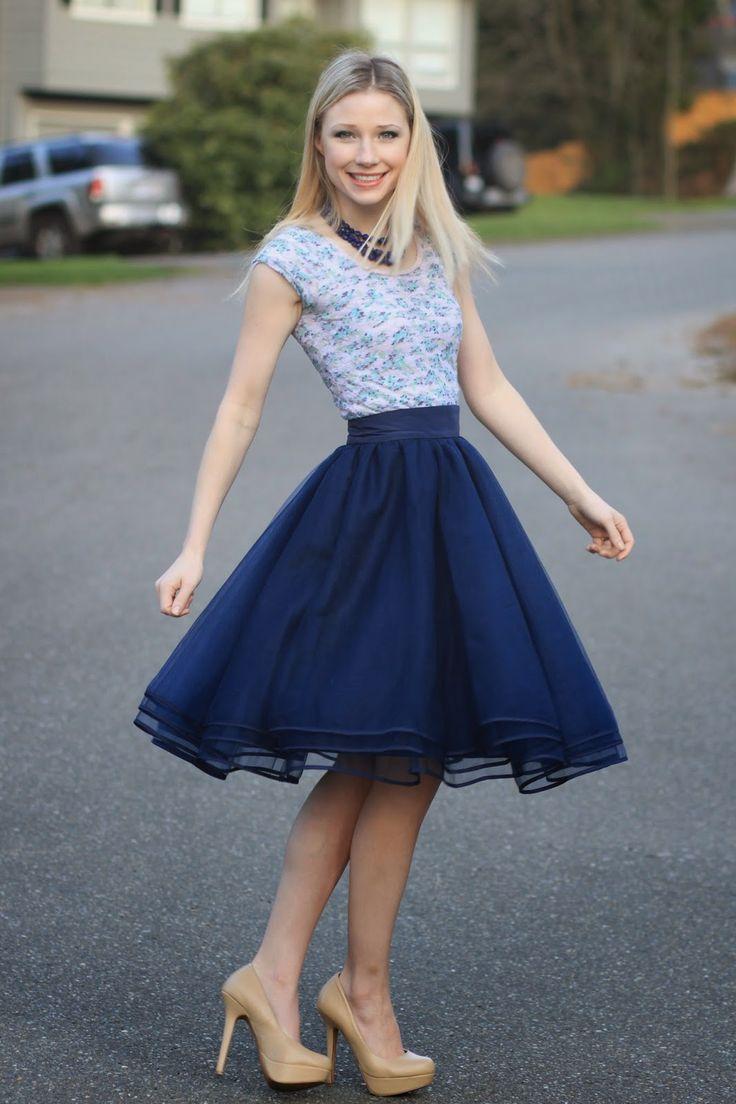 H m blue dress eshakti