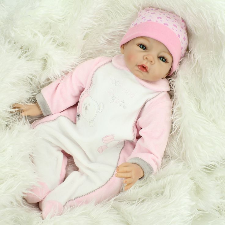 81.03$  Watch here - http://aliv0i.worldwells.pw/go.php?t=32675067879 - Lovely real reborn babies for sale 22 inch doll reborn cloth body girls gift bonecas reborn de silicone
