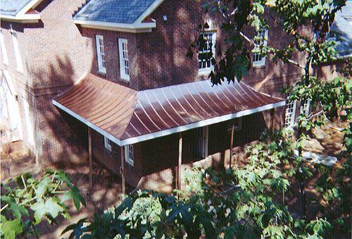 metal porch roof