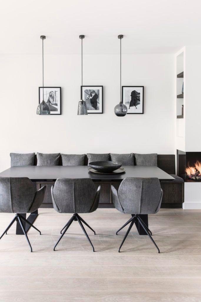 1511 best Schöne Esszimmer images on Pinterest Corner dining nook