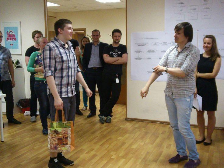 На прошлой неделе в #Mokselle отмечали день рождения — нашего замечательного верстальщика.   Удачи, Федя, спасибо что ты с нами!